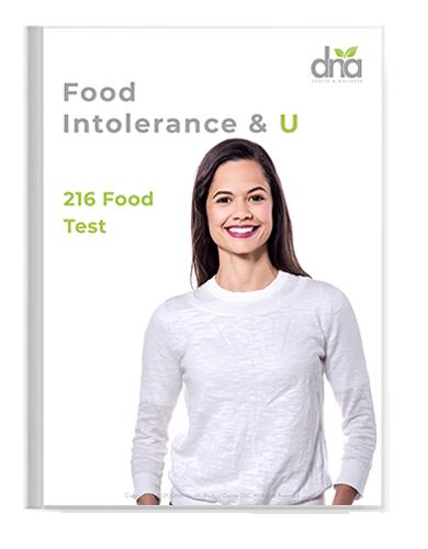 food test intolerance booklet understand
